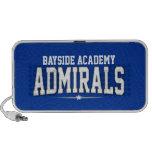 High School secundaria de la academia de Bayside;  iPod Altavoz