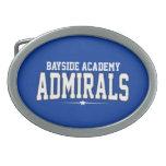 High School secundaria de la academia de Bayside;  Hebillas Cinturon