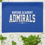 High School secundaria de la academia de Bayside;  Toallas De Cocina