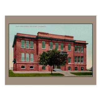 High School secundaria de la unión del vintage, Postal
