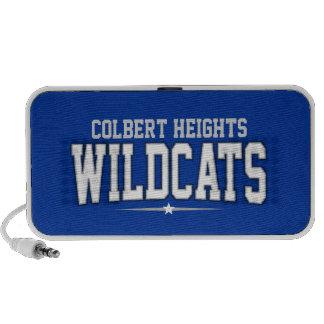 High School secundaria de las alturas de Colbert Mp3 Altavoces