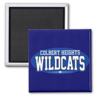 High School secundaria de las alturas de Colbert;  Imán Cuadrado