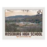High School secundaria de Roseburg Tarjeta Postal