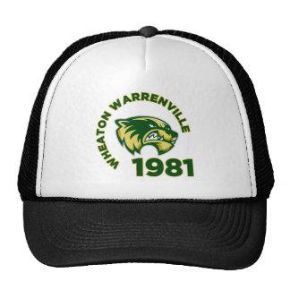 High School secundaria de Wheaton Warrenville Gorras De Camionero