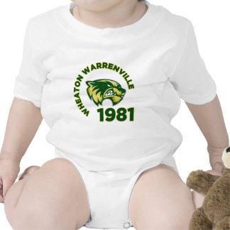 High School secundaria de Wheaton Warrenville Traje De Bebé