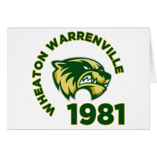 High School secundaria de Wheaton Warrenville Felicitación
