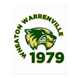 High School secundaria de Wheaton Warrenville Postales