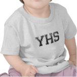 High School secundaria de YHS - vintage, apenado Camiseta