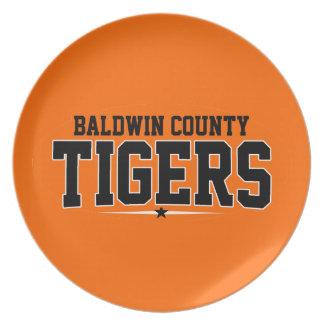 High School secundaria del condado de Baldwin; Tig Plato Para Fiesta
