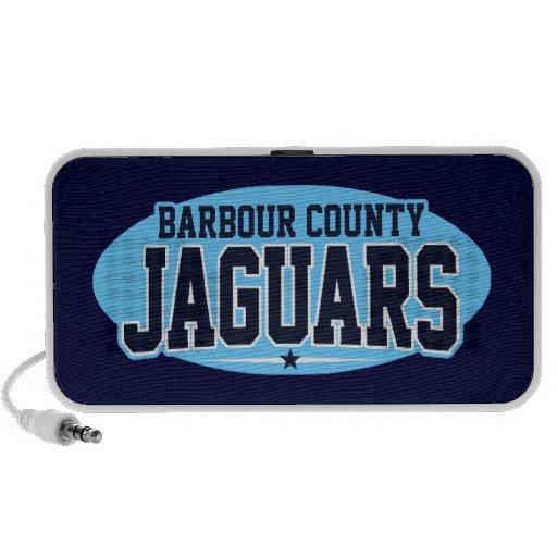 High School secundaria del condado de Barbour; Jag Notebook Altavoz