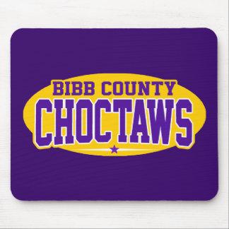 High School secundaria del condado de Bibb; Chocta Alfombrilla De Ratones