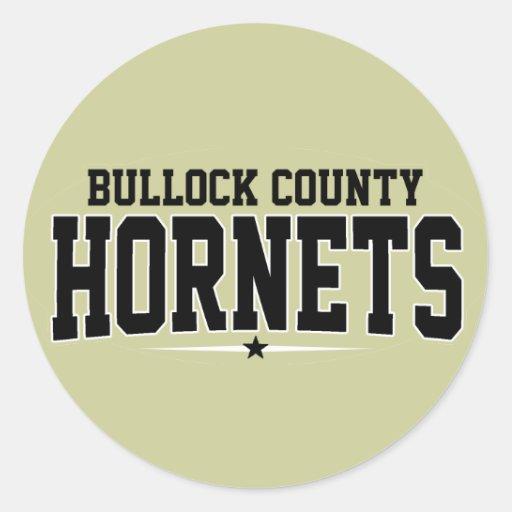 High School secundaria del condado de Bullock; Avi Etiqueta