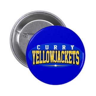 High School secundaria del curry; Yellowjackets Pin