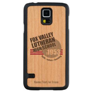 High School secundaria del Lutheran del valle del Funda De Galaxy S5 Slim Cerezo