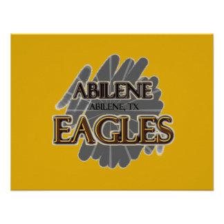 High School secundaria Eagles - Abilene TX de Abi Invitacion Personal