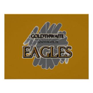 High School secundaria Eagles - Goldthwaite TX de Anuncios Personalizados