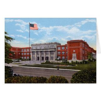High School secundaria Indianapolis Indiana de Sho Tarjetas