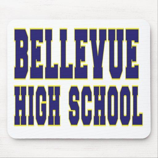 High School secundaria Mousepad de Bellevue