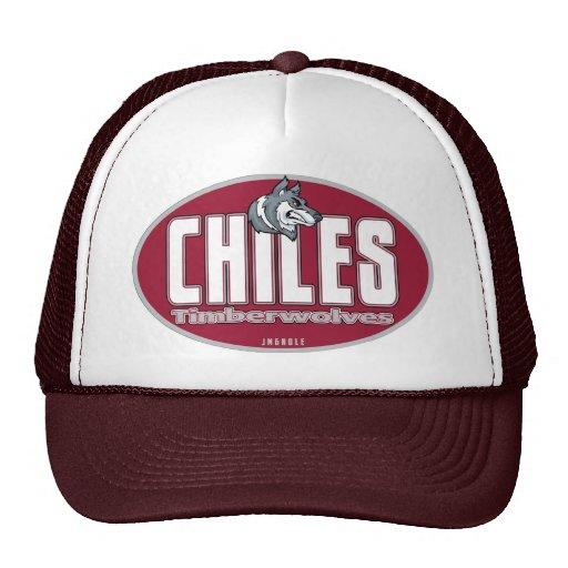 HIGH SCHOOL SECUNDARIA TIMBERWOLVES DE LOS CHILES GORRAS