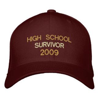 High School Survivor 2009 Embroidered Hats