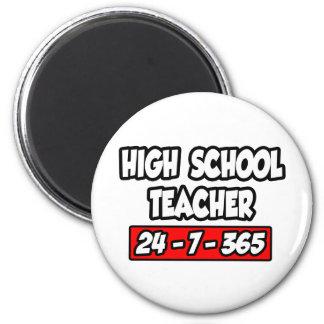 High School Teacher 24-7-365 Magnet