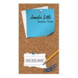 High School Teacher Business Card - Post It Note