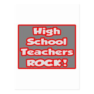 High School Teachers Rock! Postcard