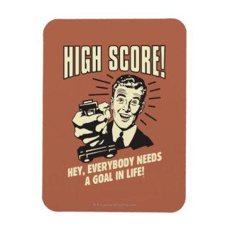 High Score: Everybody Needs Goal Life Rectangular Photo Magnet