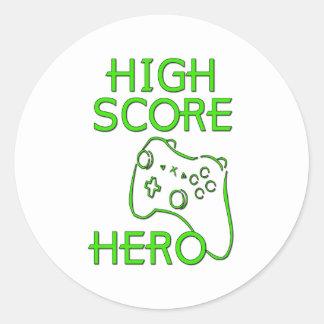 High Score Hero Sticker