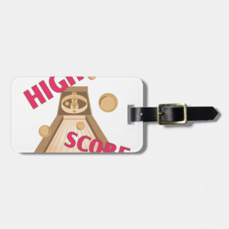 High Score Luggage Tag