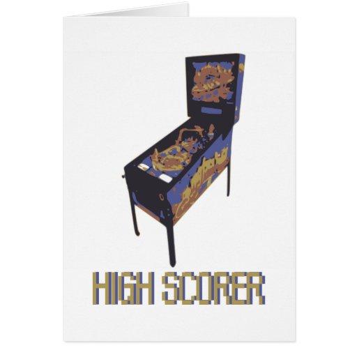 High Scorer Greeting Card