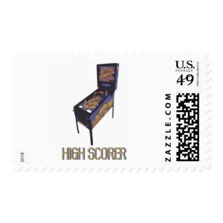 High Scorer Postage Stamp