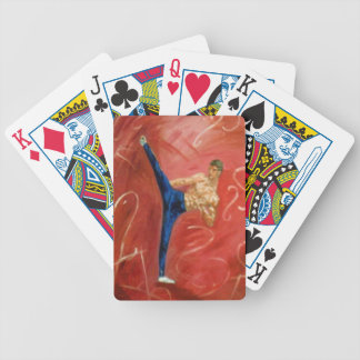 'High Side Kick' Playing Cards