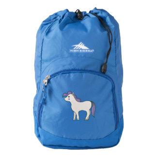 """High Sierra Backpack, Blue, """"My pony"""" High Sierra Backpack"""