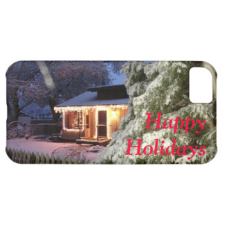 High Sierra Happy Holiday iPhone 5C Cover