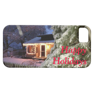 High Sierra Happy Holiday iPhone SE/5/5s Case