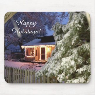 High Sierra Holiday Mouse Pad