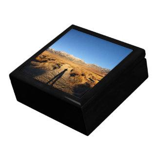 High Sierra Nevada Mountain Range Jewelry Box
