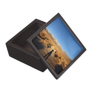 High Sierra Nevada Mountain Range Keepsake Box