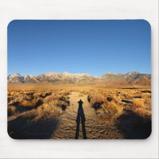 High Sierra Nevada Mountain Range Mouse Pad