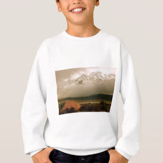 High Sierras from Horton Creek Campground Sweatshirt