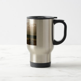 High Sierras from Horton Creek Campground Travel Mug