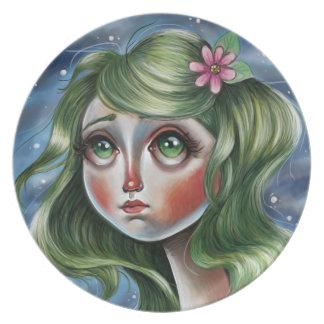 High Sky Pop Surrealism Illustration Plate