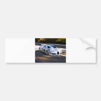 High Speed Car Bumper Sticker