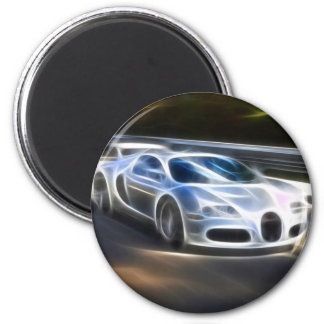 High Speed Car Refrigerator Magnets