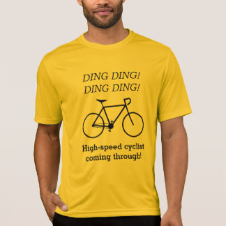 High-speed cyclist coming through! T-Shirt