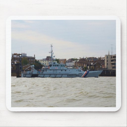 High Speed Patrol Boat Searcher Mousepad