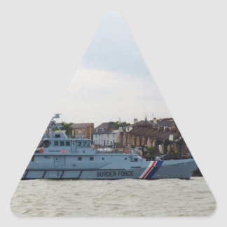 High Speed Patrol Boat Searcher Triangle Sticker