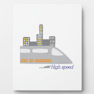 High Speed Display Plaque