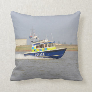 High Speed Police Boat - Pillow
